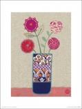 Afbeelding van4 Roze Bloemen