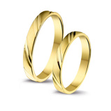 Afbeelding vanAmorio goedkope trouwringen 4003711