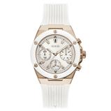 Afbeelding vanGuess GW0030L3 dameshorloge horloge Rosekleurig,Wit