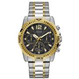 Afbeelding vanGuess GW0056G4 Commander horloge herenhorloge Goudkleur,Zwart