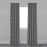 Afbeelding vanGordijn vtwonen Lichtdoorlatend Frost grijs 140x270