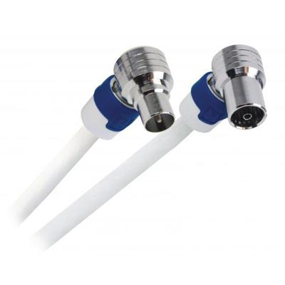 Afbeelding van 10m Hirschmann FEKAB5 kabelkeur Ziggo geschikt antenne coax kabel