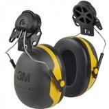 Afbeelding van3M Peltor X2P3 Gehoorkap Met Helmbevestiging Zwart/geel Passieve Gehoorkappen