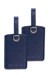 Afbeelding vanSamsonite Accessoires Rectangle Luggage Tag X2 midnight blue Adreslabels