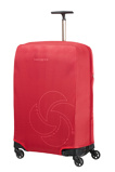 Afbeelding vanSamsonite Accessoires Foldable Luggage Cover M red Kofferhoes