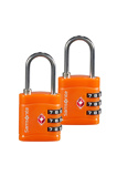Afbeelding vanSamsonite Accessoires Combilock 3 Dial TSA X2 orange (TSA) kofferslot
