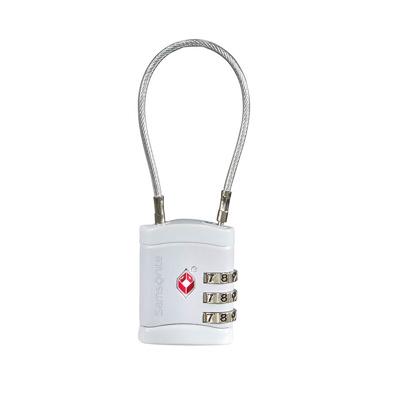 Afbeelding van Samsonite Accessoires Cablelock 3 Dial TSA alu (TSA) kofferslot