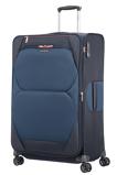 Afbeelding vanSamsonite Dynamore Spinner 78 Expandable Blue Zachte Koffers