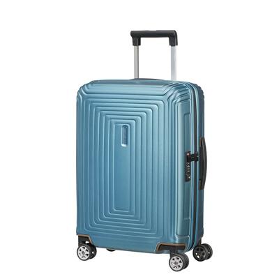 Afbeelding van Samsonite Neopulse Spinner 55 Matte Ice Blue Harde Koffers