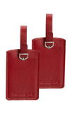 Afbeelding vanSamsonite Accessoires Rectangle Luggage Tag X2 red Adreslabels