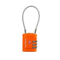 Thumbnail of Samsonite Accessoires Cablelock 3 Dial TSA orange (TSA) kofferslot