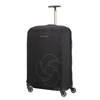 Thumbnail of Samsonite Accessoires Foldable Luggage Cover M black Kofferhoes