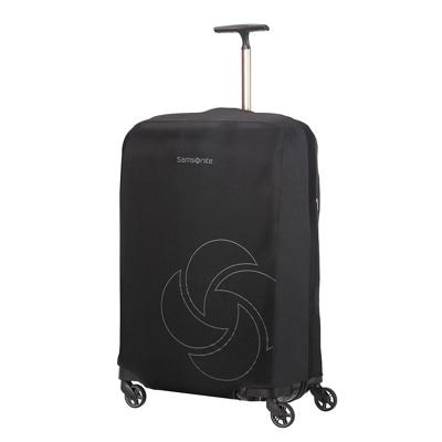 Afbeelding van Samsonite Accessoires Foldable Luggage Cover M black Kofferhoes
