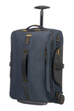 Afbeelding vanSamsonite Paradiver Light Duffle Wheels 55 Strict Cabin Jeans Blue Handbagage Koffers