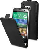 Image of Muvit Slim Case One M9 Black MUSLI0648