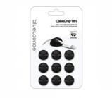 Abbildung vonBluelounge CableDrop Mini 9er Pack schwarz SB Supply CDM BL