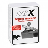 Afbeelding vanHG X Tegen Muizen Navulbare Lokbox + 2 Sachets