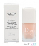 Afbeelding vanChristian Dior Base Coat Abricot Protective Nail Care 10 ml