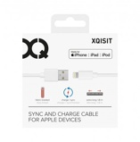 Afbeelding vanXQISIT Cotton Cable Lightning 1.8 Meter Wit