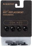 """Abbildung von""""Burton EST Hardware Set Black """""""