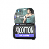 "Bilde av""Sea to Summit Premium Cotton Liner Mummy Navy"""