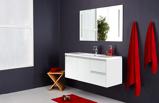 Billede afAnastasia bademøbel m. spejl, hvid