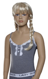 Afbeelding vanLunatex meisjes hemd Stripe