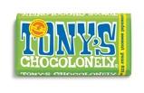 Afbeelding vanChocolade Tony's Chocolonely reep 180gr puur amandel zeezout Promotie artikelen