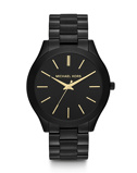 Afbeelding vanMichael Kors MK3221 - Runway Slim ll - Horloge dameshorloge horloge Zwart