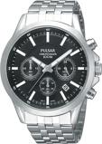 Afbeelding vanPulsar herenhorloge PT3045X1 horloge Zilverkleur,Zwart