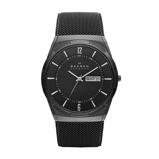 Afbeelding vanSkagen SKW6006 Horloge Melbye titanium zwart