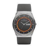 Afbeelding vanSkagen SKW6007 Horloge Melbye titanium zilvergrijs