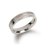 Afbeelding vanBoccia 0129 01 Ring Titanium Maat 63