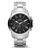 Afbeelding vanFossil FS4736IE Grant horloge herenhorloge Zilverkleur
