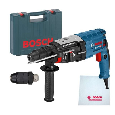 Afbeelding van Bosch GBH 2 28 F SDS plus Combihamer incl. snelspanboorkop in koffer 880W 3,2J