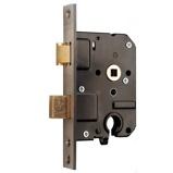 Afbeelding vanNemef 4119 veiligheids insteekslot DR. 1+3 doornmaat 50 PC 55 voorplaat rechthoekig SKG**