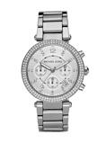 Afbeelding vanMichael Kors dameshorloge MK5353 horloge Zilverkleur