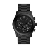 Afbeelding vanMichael Kors herenhorloge MK8157 horloge Zwart