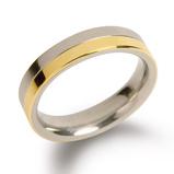 Afbeelding vanBoccia 0129 020 Ring Titanium Maat 57