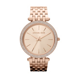 Afbeelding vanMichael Kors Ladies Rosegoudkleurig Tone horloge MK3192
