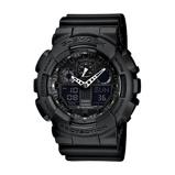 Afbeelding vanCasio G Shock GA 100 1A1ER Classic horloge herenhorloge Zwart