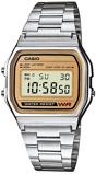 Afbeelding vanCasio Collection A158WEA 9EF horloge Classic horloges Zilverkleur
