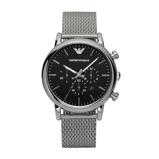 Afbeelding vanArmani Luigi AR1811 herenhorloge horloge Zwart
