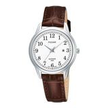 Afbeelding vanPulsar dameshorloge PH7187X1 horloge Bruin,Wit,Zilverkleur