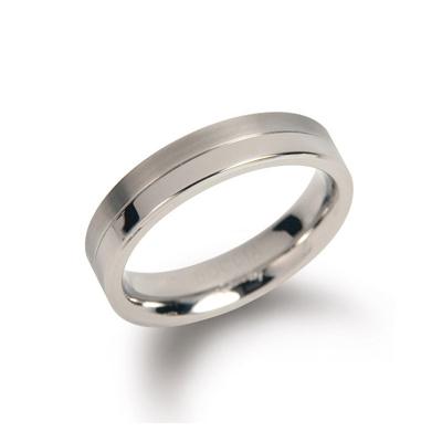 Afbeelding van Boccia 0129 01 Titanium ring