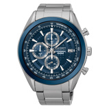 Afbeelding vanSeiko SSB177P1 Chrono horloge herenhorloge Hoge Marge Zilverkleur