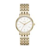 Afbeelding vanDKNY NY2503 Minetta horloge dameshorloge horloge Goudkleur