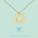 Afbeelding vanHeart to get LB156INO16G Big Initial letter O including necklace (40 +
