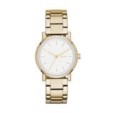 Afbeelding vanDKNY NY2343 Soho horloge - 34 mm dameshorloge horloge Goudkleur