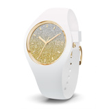 Afbeelding vanIce Watch horloge 'Ice Lo White Goldplated Medium IW013432